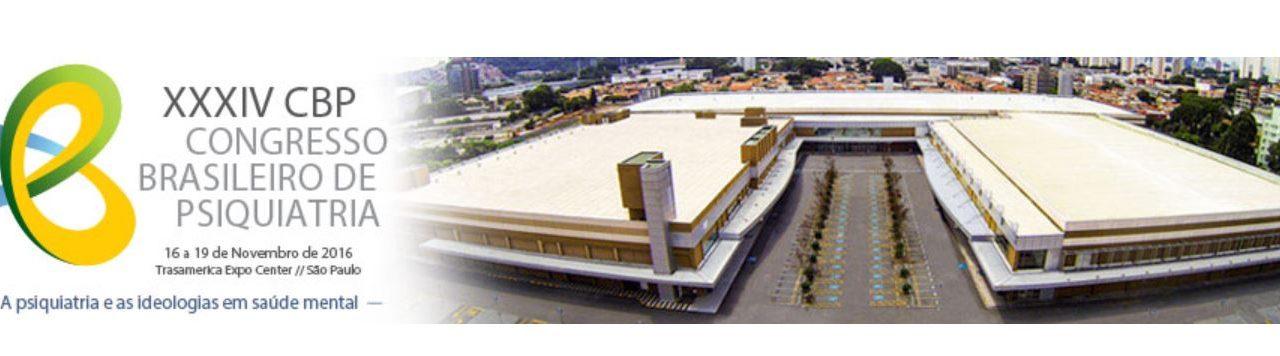 XXXIV Congresso Brasileiro de Psiquiatria