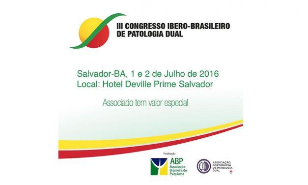 III Congresso Ibero-Brasileiro de Patologia Dual
